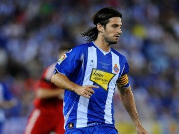 Dani Jarque, eterno capitán del Espanyol