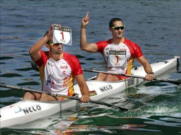 Bouzán y Fiuza ganan el Descenso del Sella