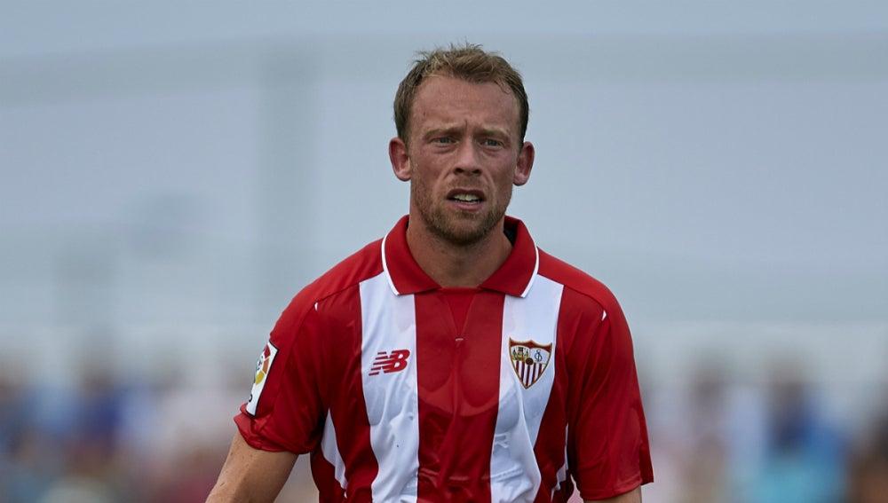 Krohn-Dehli, jugador del Sevilla