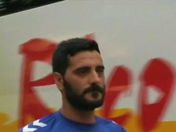 Dani Güiza, jugador del Cádiz
