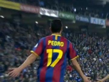 Pedro Rodríguez, gol el con FC Barcelona