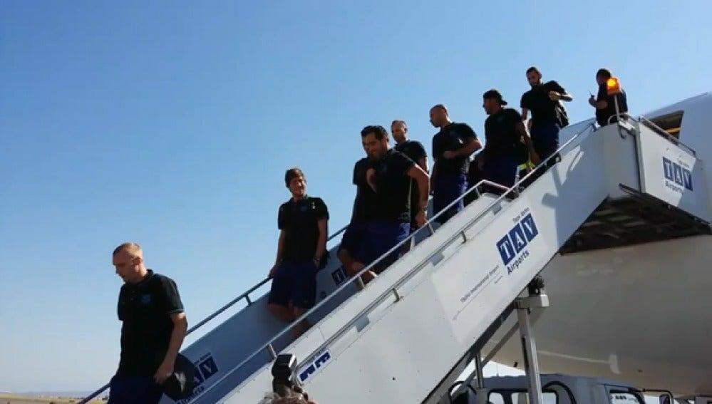 El Barça llega a Tiflis