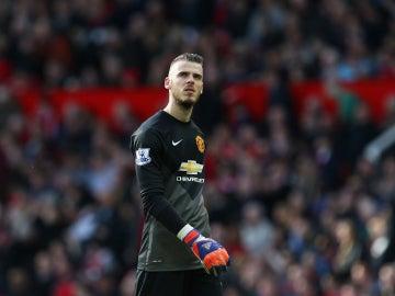 David de Gea está listo para jugar con el Manchester United