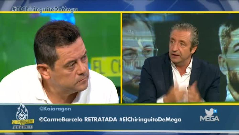 Tomás Roncero y Josep Pedrerol