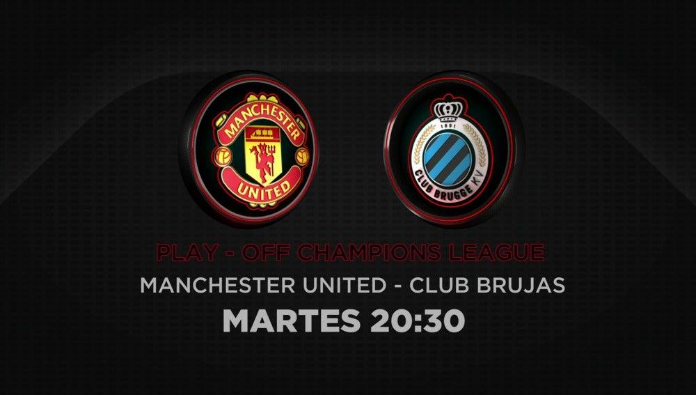 Manchester United vs Brujas en laSexta y Atresplayer