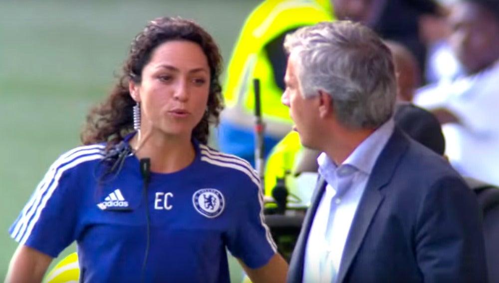El encontronazo entre Mourinho y Eva Carneiro
