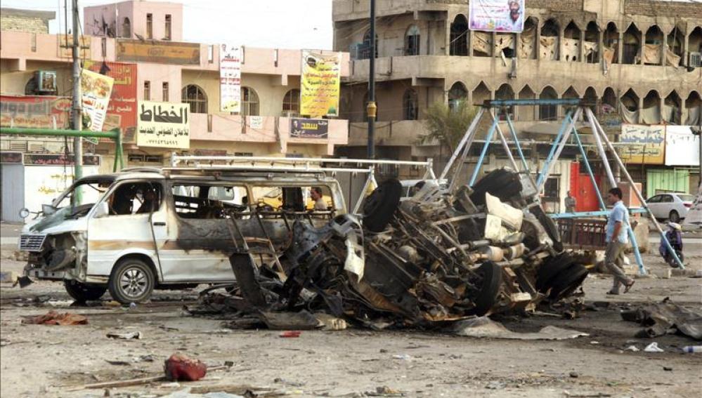 Atentado en el norte de Bagdad