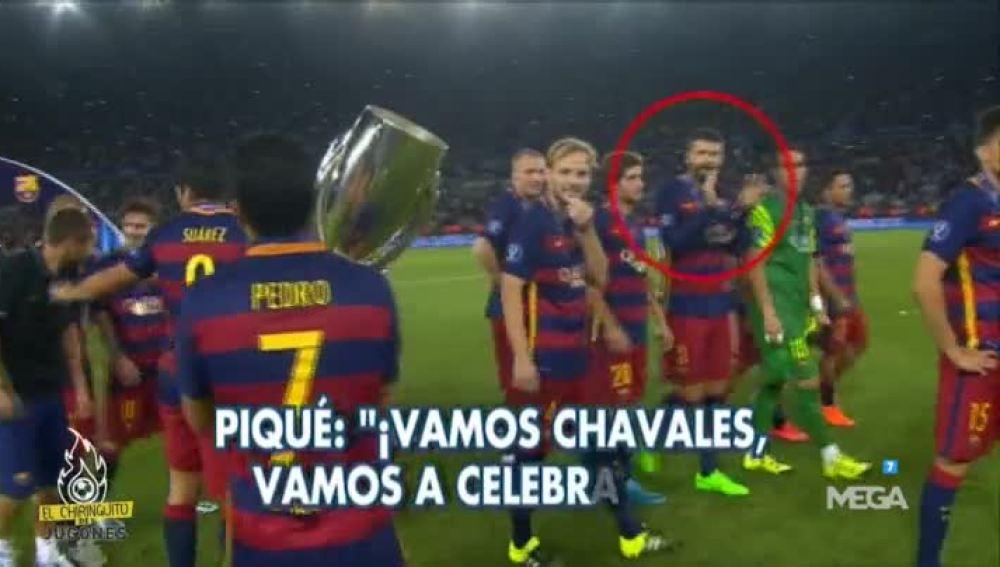 Piqué se mete con el Madrid