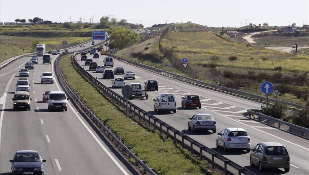 La A-5, carretera de Extremadura