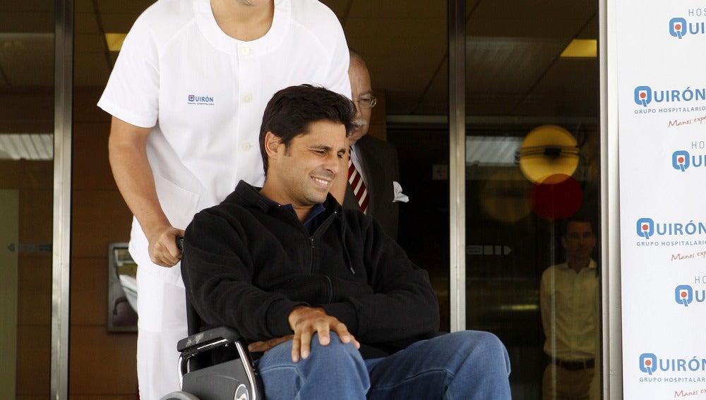 Fran Rivera sale del hospital