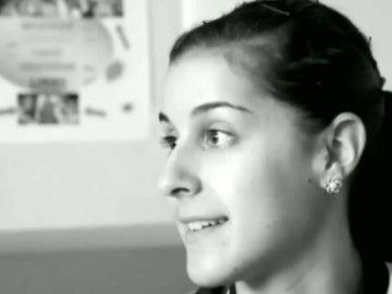 Carolina Marín, en blanco y negro