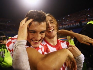 Modric y Kovacic