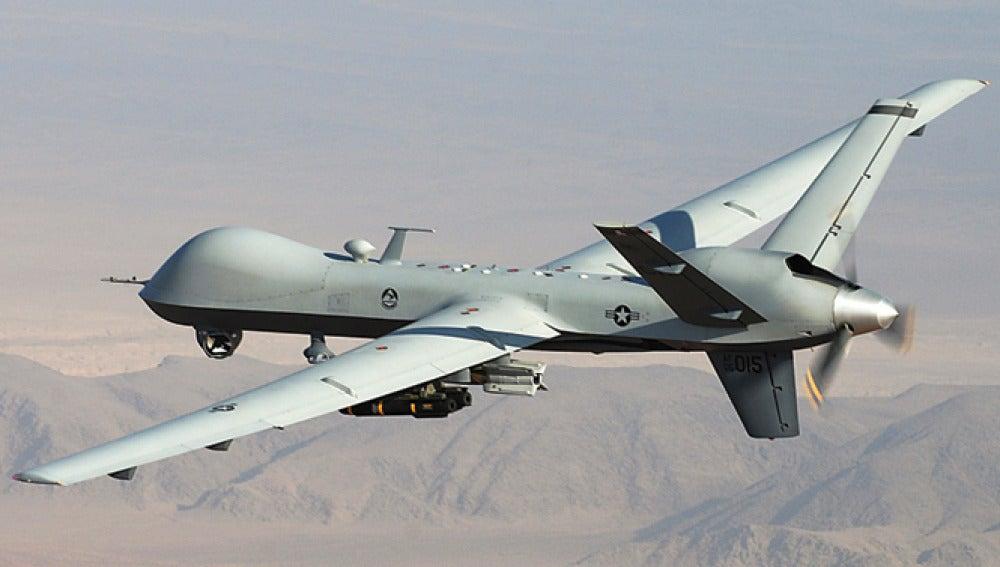 Dron de Estados Unidos en Siria