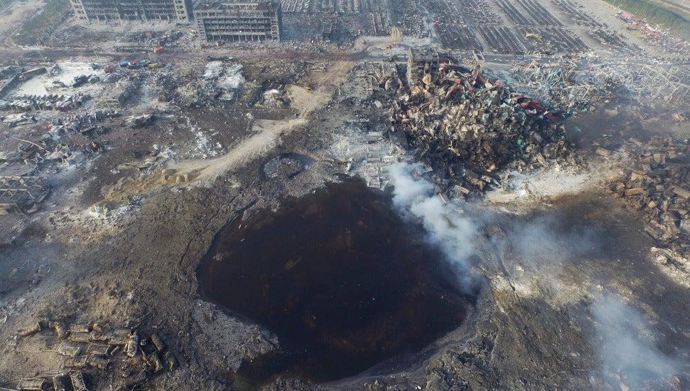 Desastre en Tianjin