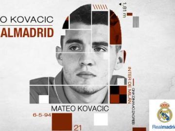 Mateo Kovacic, el nuevo fichaje del Real Madrid
