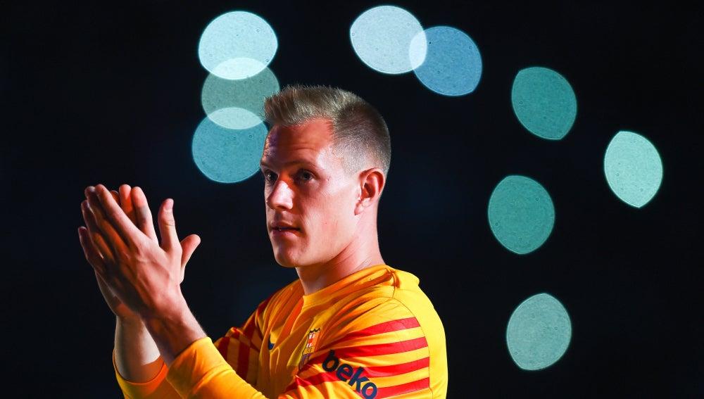 El portero alemán del FC Barcelona, Marc André Ter Stegen