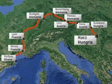 La ruta que escogió Morate para su escapada, una de las cuatro claves de la investigación