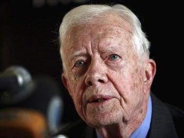 El expresidente de EEUU, Jimmy Carter