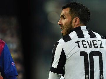El delantero de Boca Carlos Tevez defendió al astro Lionel Messi