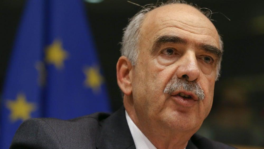 Vangelis Meimarakis, líder de Nueva Democracia