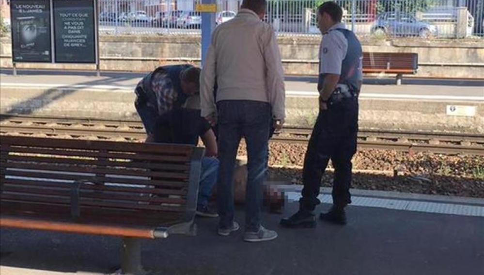 Detención del sospechoso del tiroteo en un tren de alta velocidad Thalys Amsterdam-París