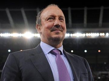 El entrenador del Real Madrid, Rafa Benítez