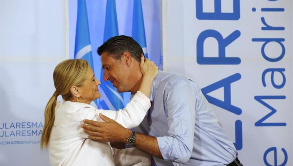 Cristina Cifuentes y Xavier García Albiol