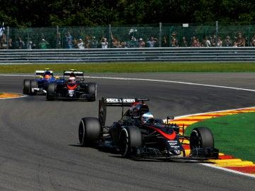 Alonso, por delante de Button