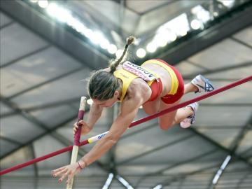 La donostiarra Naroa Agirre, presente por quinta vez en unos Mundiales de atletismo