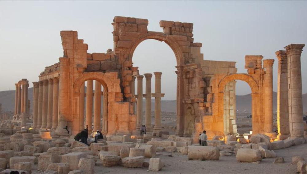 Histórico templo de Baal, en Palmira