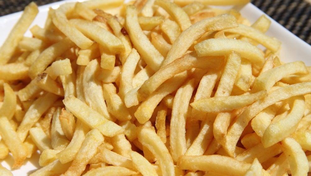 Patatas fritas al horno... más sanas.