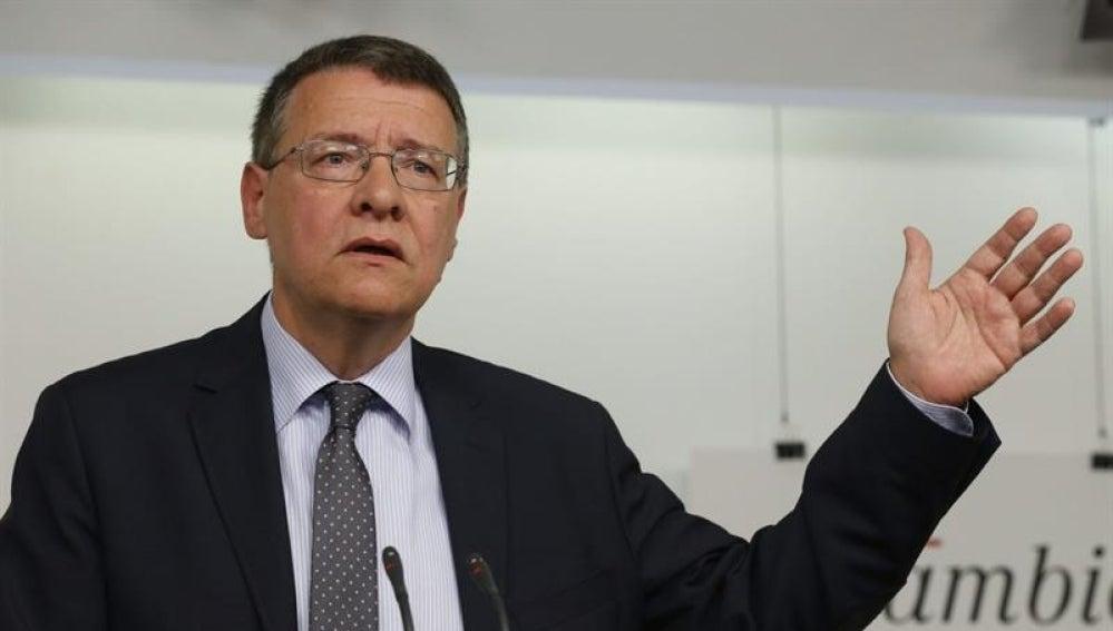 El responsable de Economía e Innovación del equipo de expertos del PSOE, Jordi Sevilla