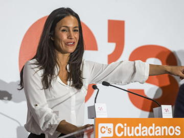 La número uno de Ciudadanos en Madrid, Begoña Villacís