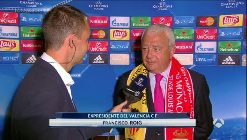Paco Roig, en una entrevista