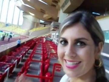 Frame 42.99377 de: Susana Guasch nos muestra el escenario de la previa de Champions, el estadio Luis II