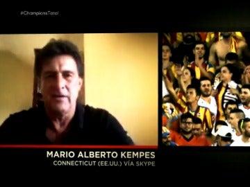 Mario Alberto Kempes, en Champions Total