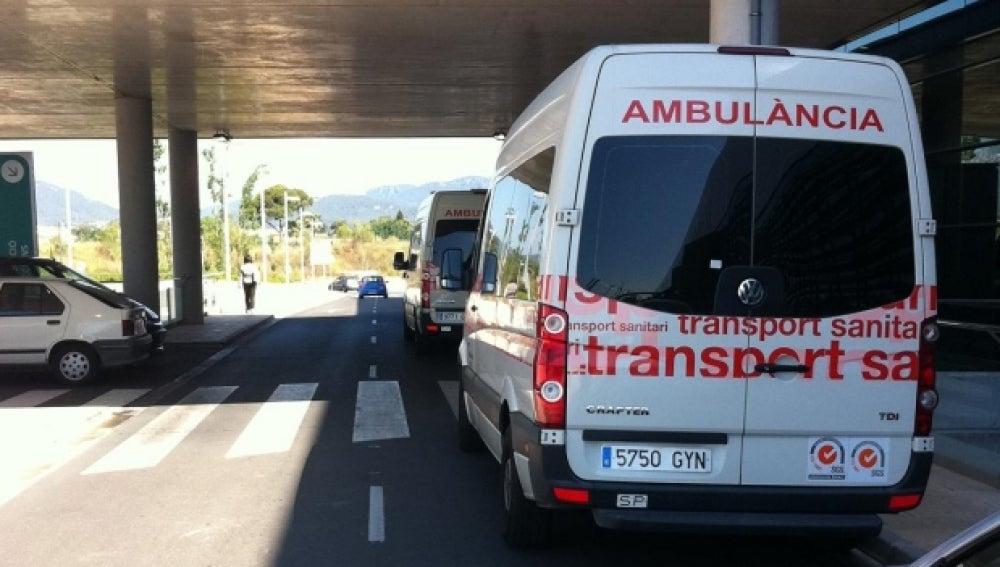 Ambulancia del sistema de salud de Mallorca