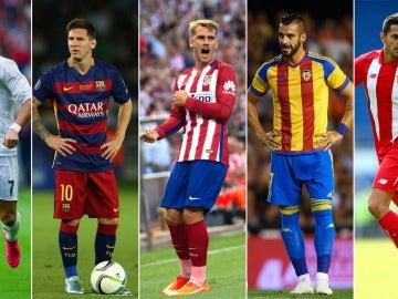 Cinco equipos españoles jugarán la Champions