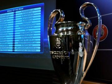 El sorteo de la Champions en 2013
