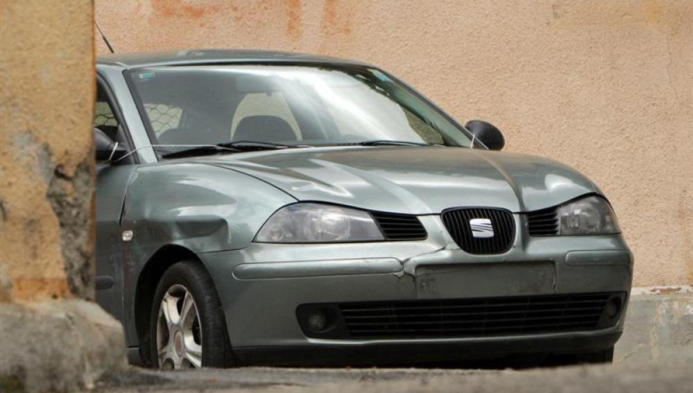 El coche de Sergio Morate