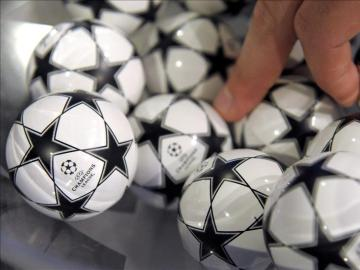 Bolas del sorteo de la Champions League
