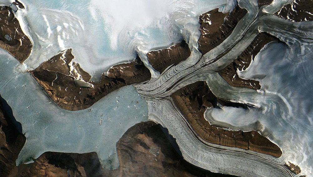 El calentamiento global está afectado a zonas como Groenlandia