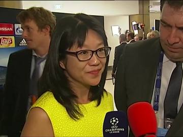 Lay Hoon, presidenta del Valencia