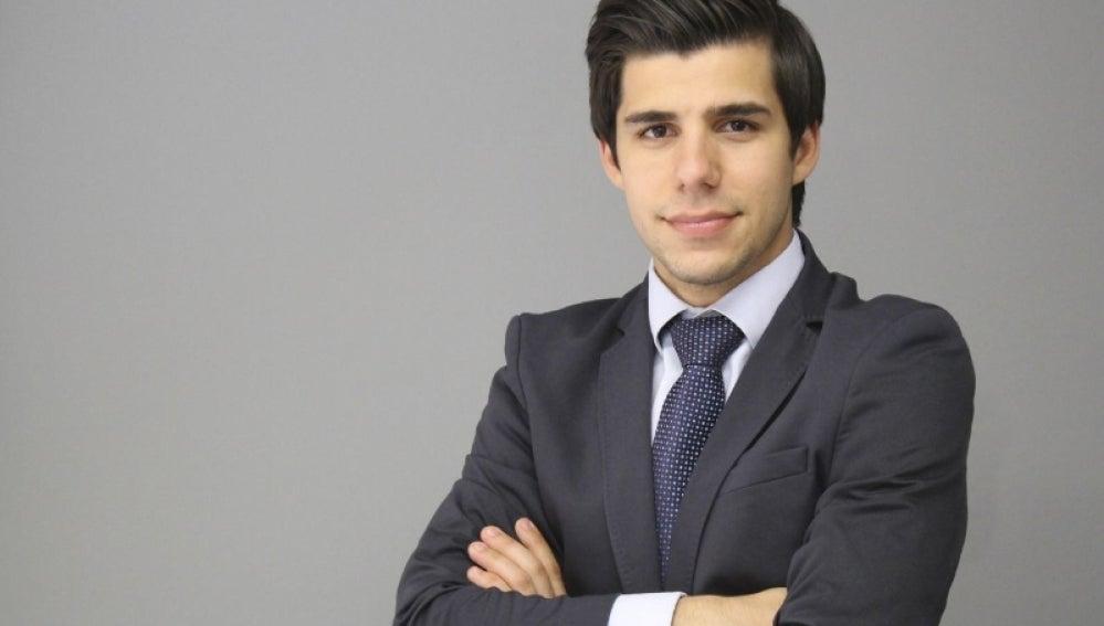 El joven Dídac Sánchez.