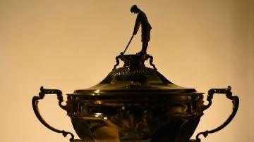 El trofeo de la Ryder Cup