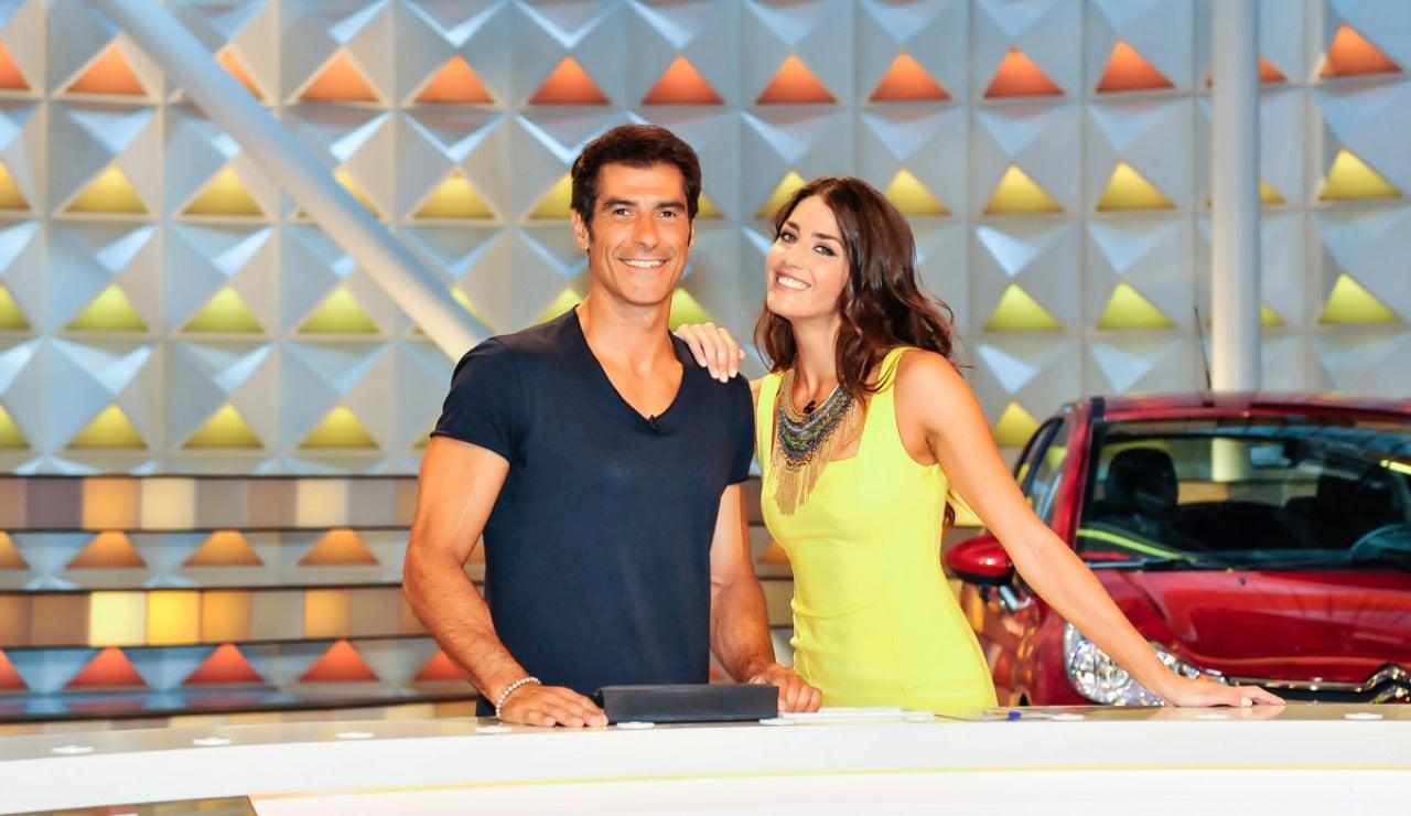Jorge y Laura en la nueva Ruleta de la Suerte