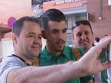 Dani Ceballos, jugaodor del Betis a su llegada a Madrid