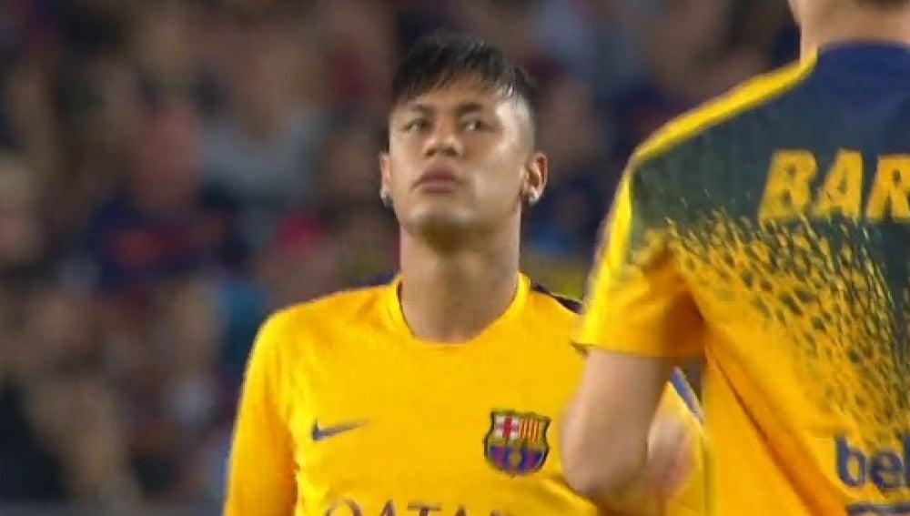 Neymar, regresa a tono después de las pepaeras