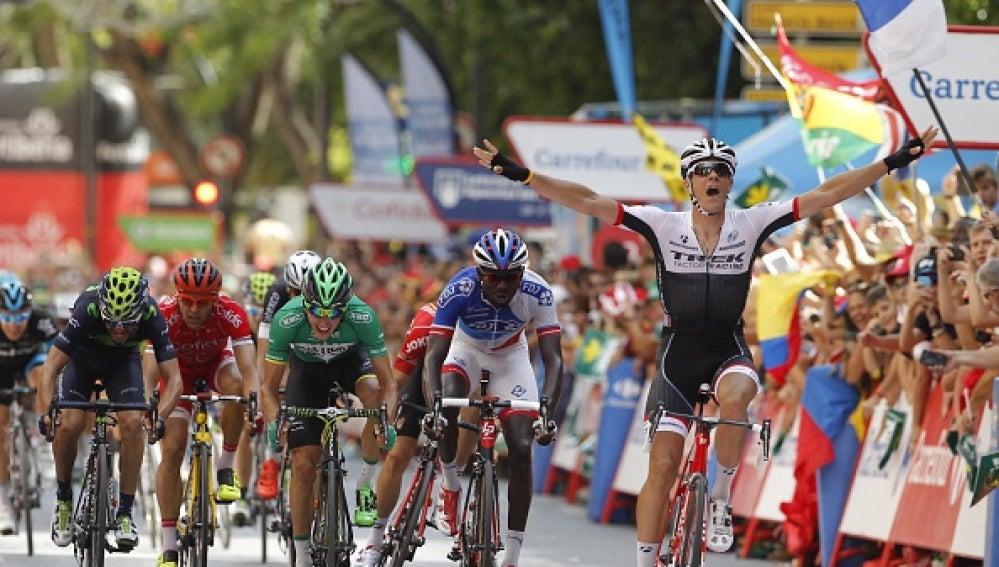 El ganador de la 8ª etapa de La Vuelta 2015, Jasper Stuyven