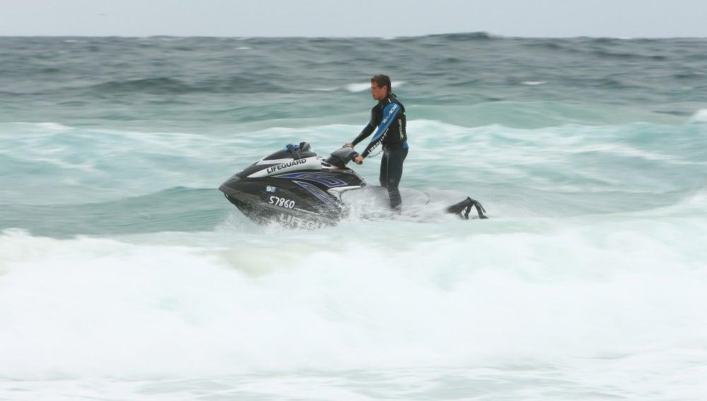 Las motos de agua son un reclamo para los turistas.